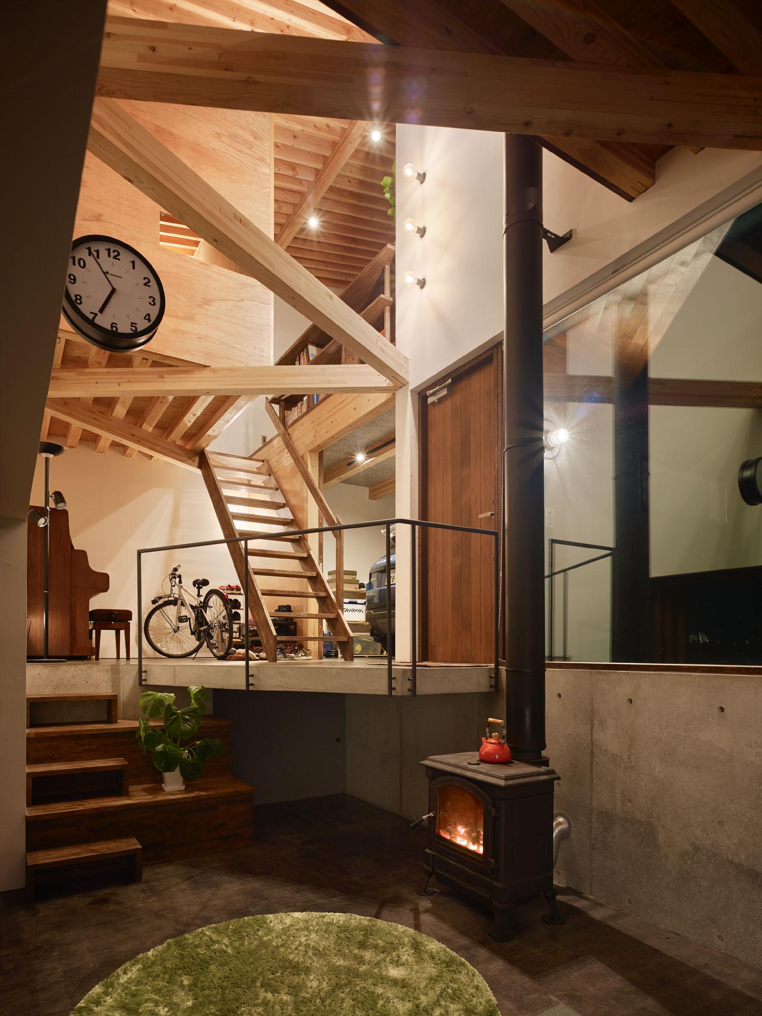 ステューディオ2アーキテクツ/アウトドアを楽しむ家
