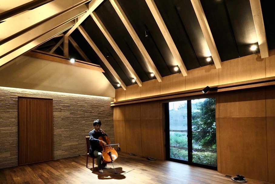 廣部 剛司/音楽と暮らす、スタジオを兼ねた家