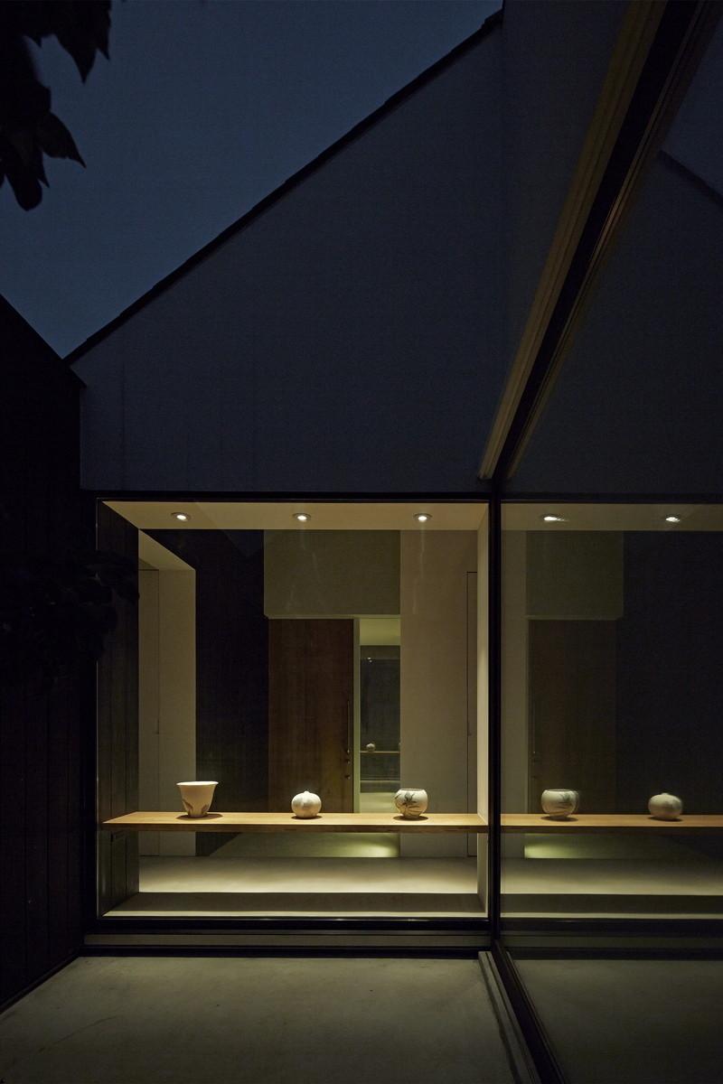 陶芸作家の住まう家