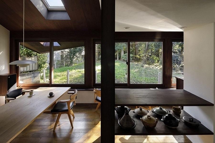 建築が自然とともにある住まい